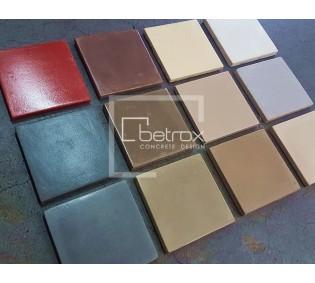 Carta de colores BETROX 9x9 cm
